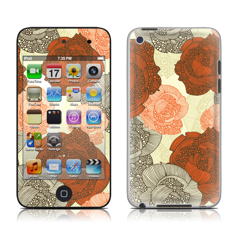 Roses iPod touch 4th Gen Skin