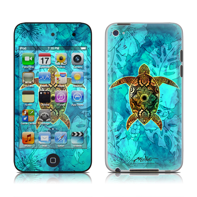 Sacred Honu iPod touch 4th Gen Skin