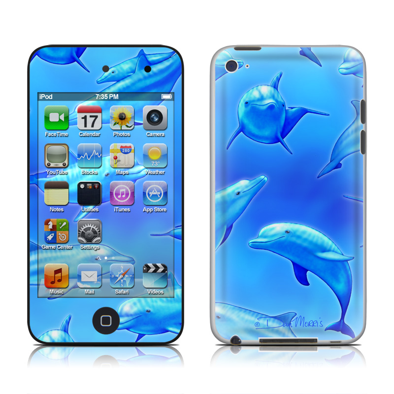 Swimming Dolphins iPod touch 4th Gen Skin