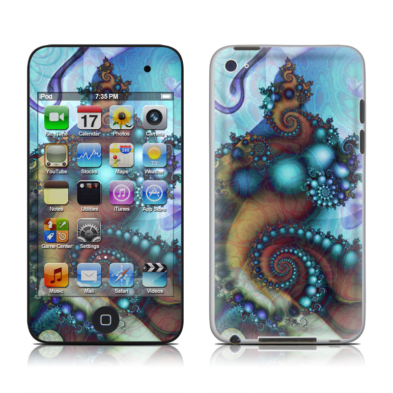 Sea Jewel iPod touch 4th Gen Skin