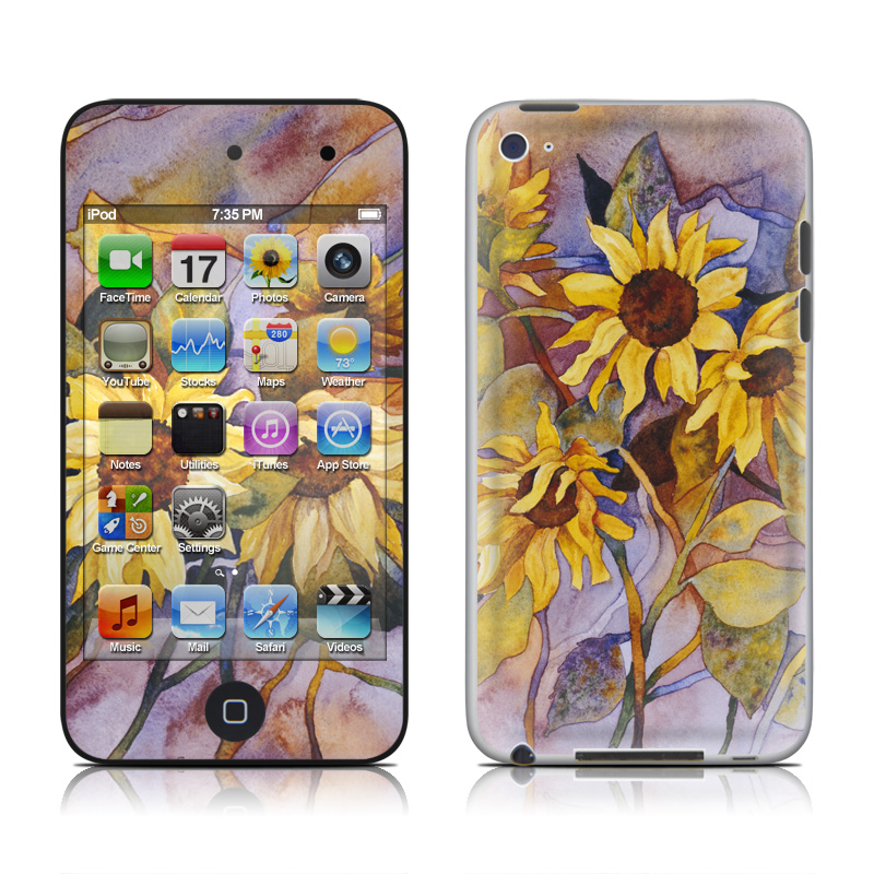 Sunflower iPod touch 4th Gen Skin