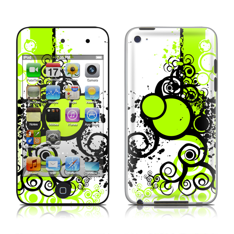Simply Green iPod touch 4th Gen Skin