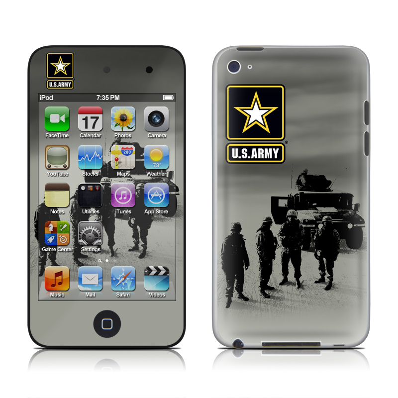 Soldiers All iPod touch 4th Gen Skin