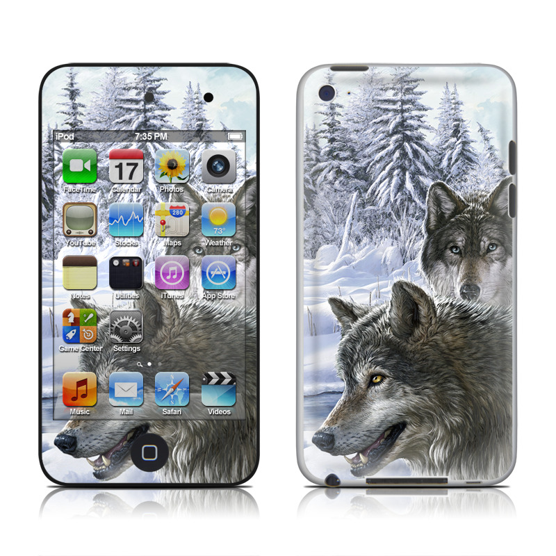 Snow Wolves iPod touch 4th Gen Skin