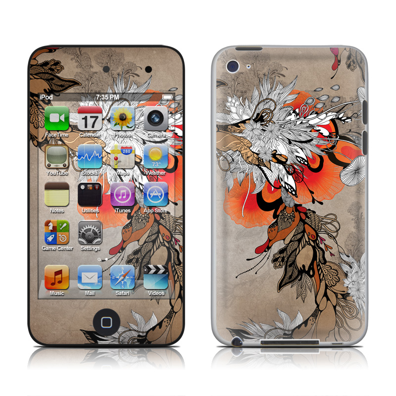 Sonnet iPod touch 4th Gen Skin