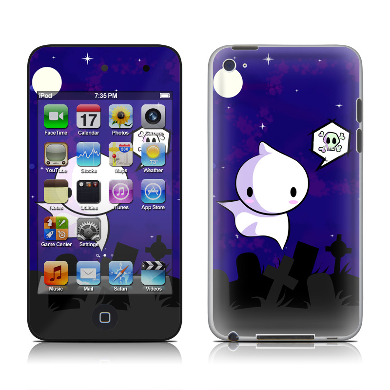 Spectre iPod touch 4th Gen Skin