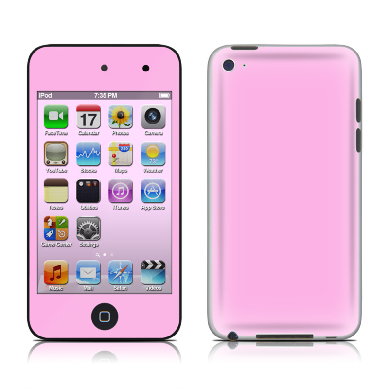 Solid State Pink iPod touch 4th Gen Skin - Covers iPod ...