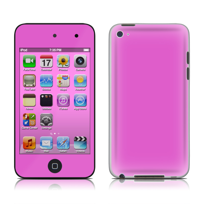 Solid State Vibrant Pink iPod touch 4th Gen Skin