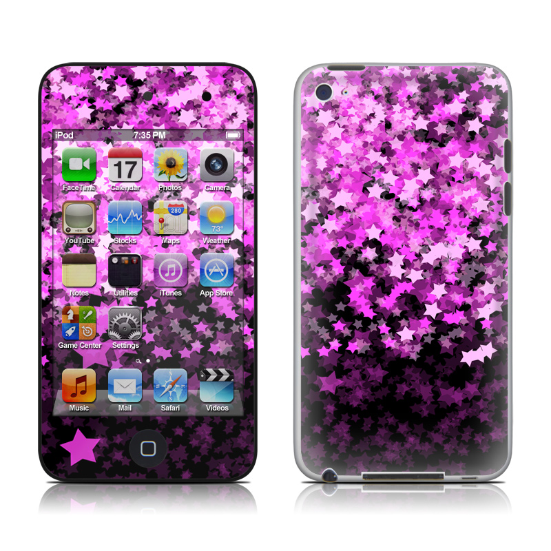 Stardust Summer iPod touch 4th Gen Skin