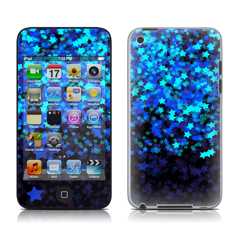 Stardust Winter iPod touch 4th Gen Skin
