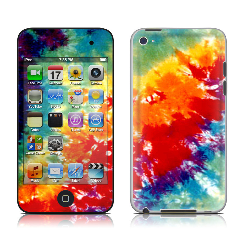 Tie Dyed iPod touch 4th Gen Skin