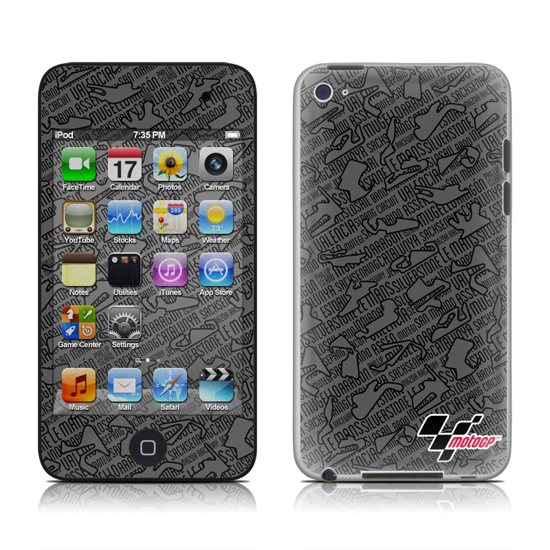 Tracked iPod touch 4th Gen Skin
