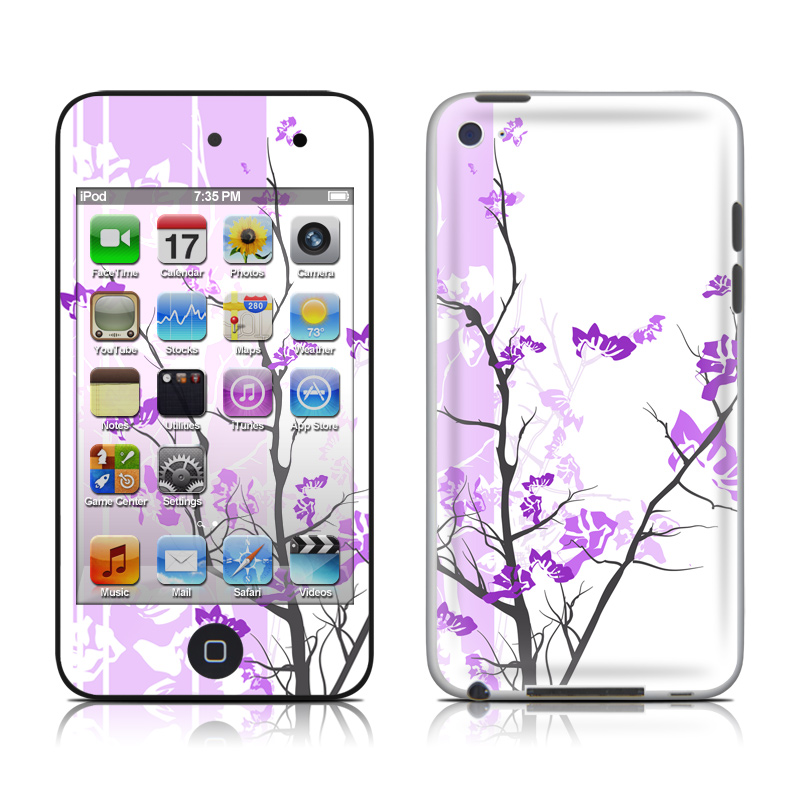 Violet Tranquility iPod touch 4th Gen Skin