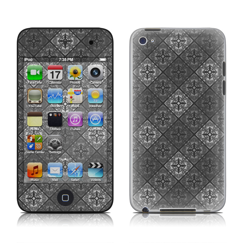 Tungsten iPod touch 4th Gen Skin