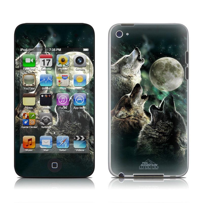 Three Wolf Moon iPod touch 4th Gen Skin