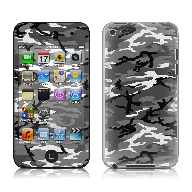 Urban Camo iPod touch 4th Gen Skin
