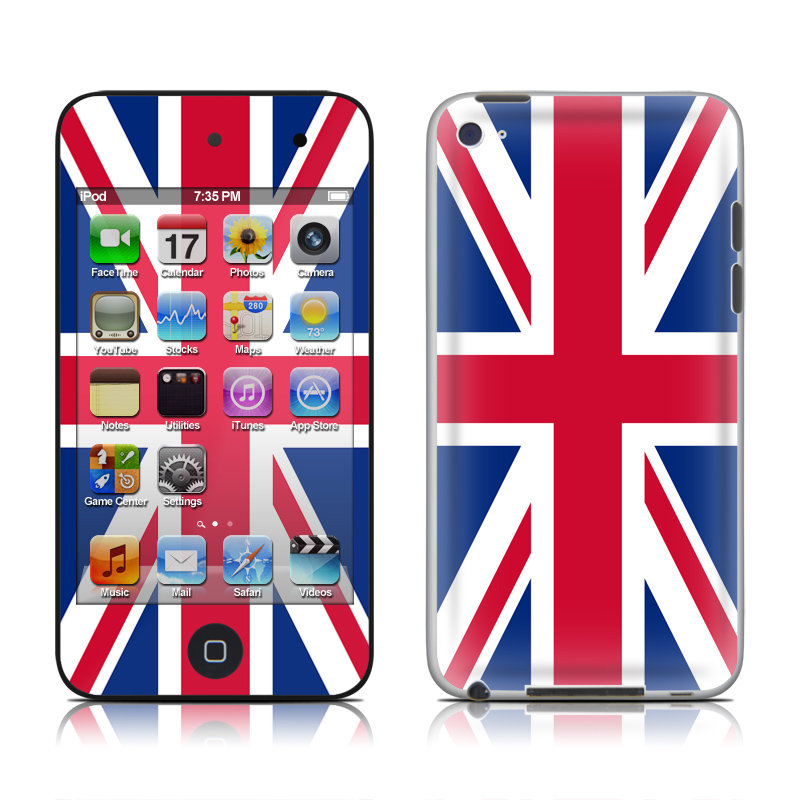 Union Jack iPod touch 4th Gen Skin
