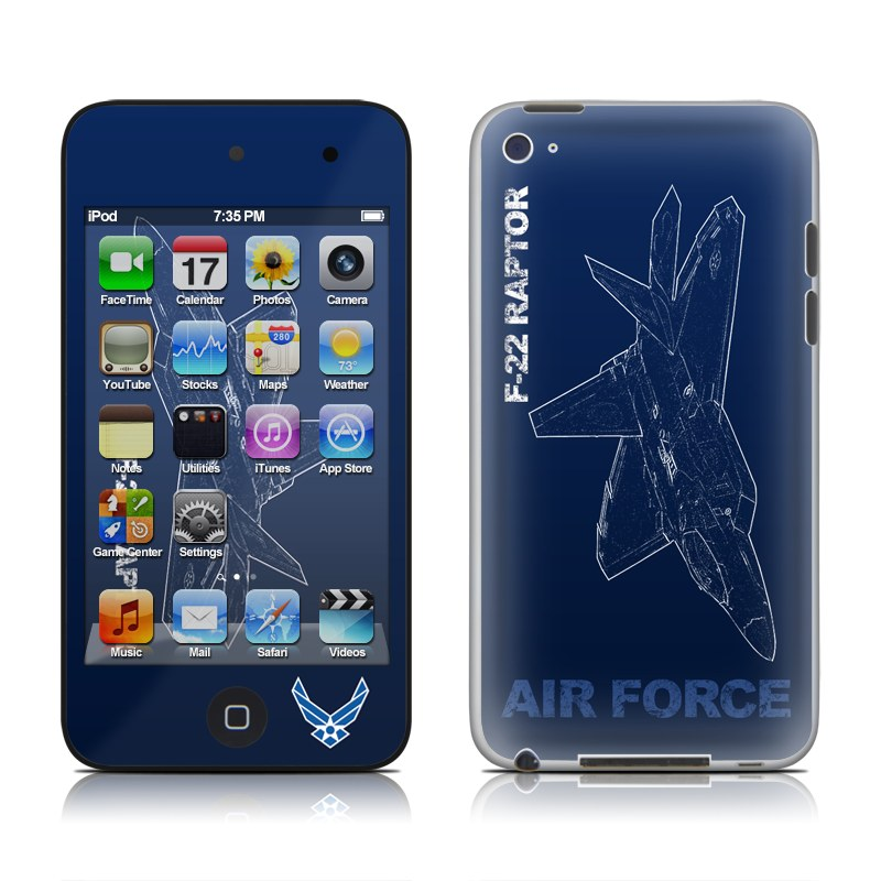 F-22 Raptor iPod touch 4th Gen Skin