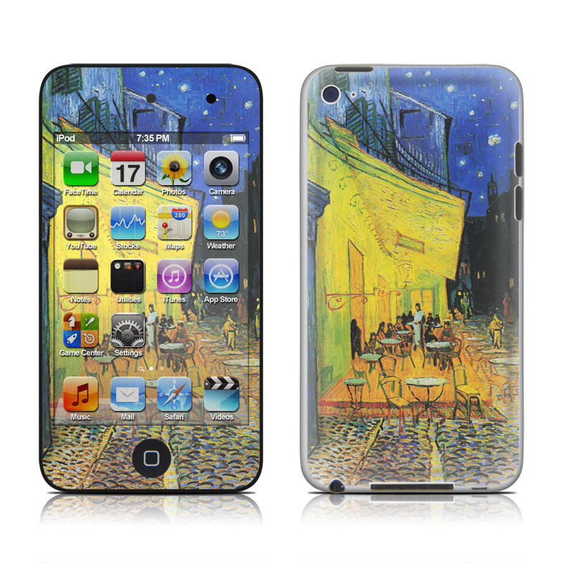 Cafe Terrace At Night iPod touch 4th Gen Skin
