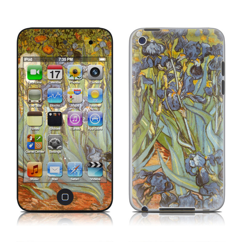 Irises iPod touch 4th Gen Skin
