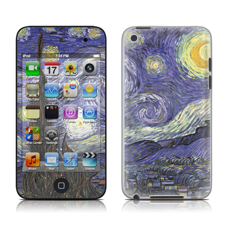 Starry Night iPod touch 4th Gen Skin
