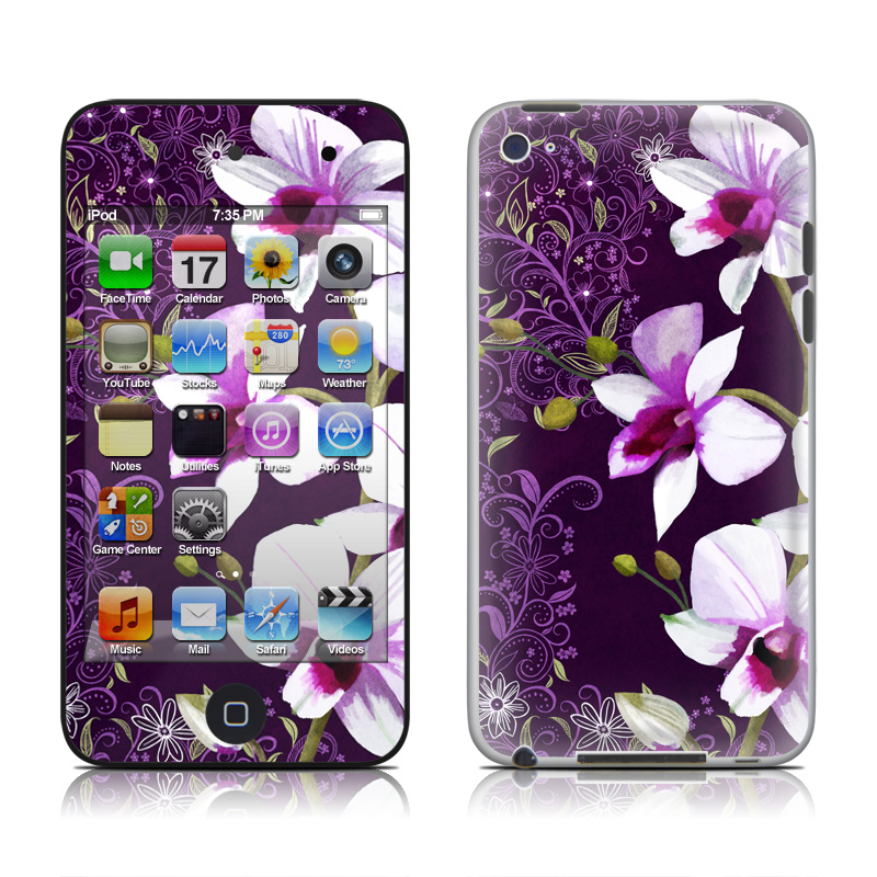 Violet Worlds iPod touch 4th Gen Skin