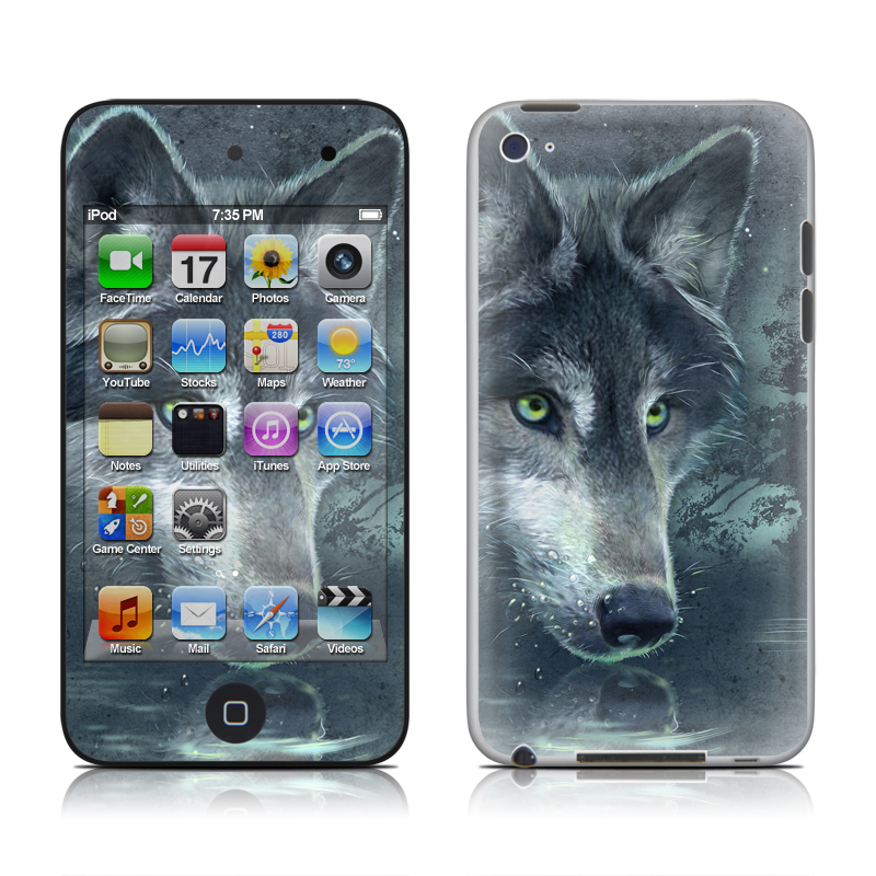Wolf Reflection iPod touch 4th Gen Skin