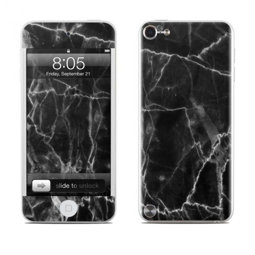 Black Marble iPod touch 5th Gen Skin