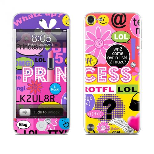 Princess Text Me iPod touch 5th Gen Skin