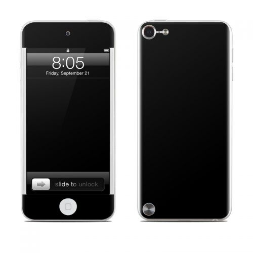 Solid State Black iPod touch 5th Gen Skin