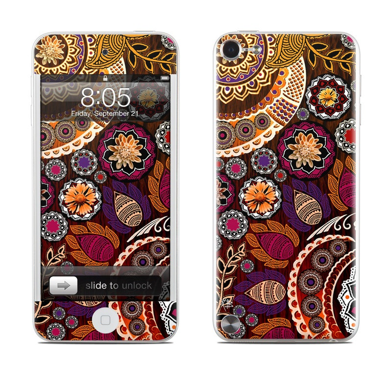 Autumn Mehndi iPod touch 5th Gen Skin