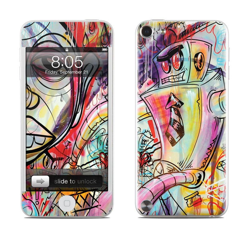 Battery Acid Meltdown iPod touch 5th Gen Skin