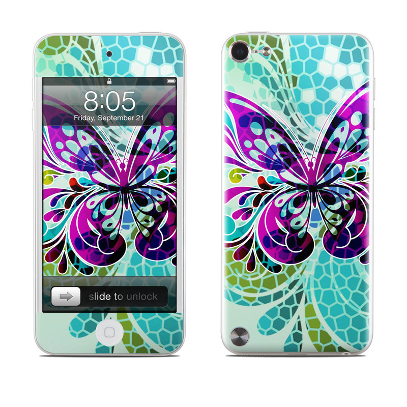 Butterfly Glass iPod touch 5th Gen Skin