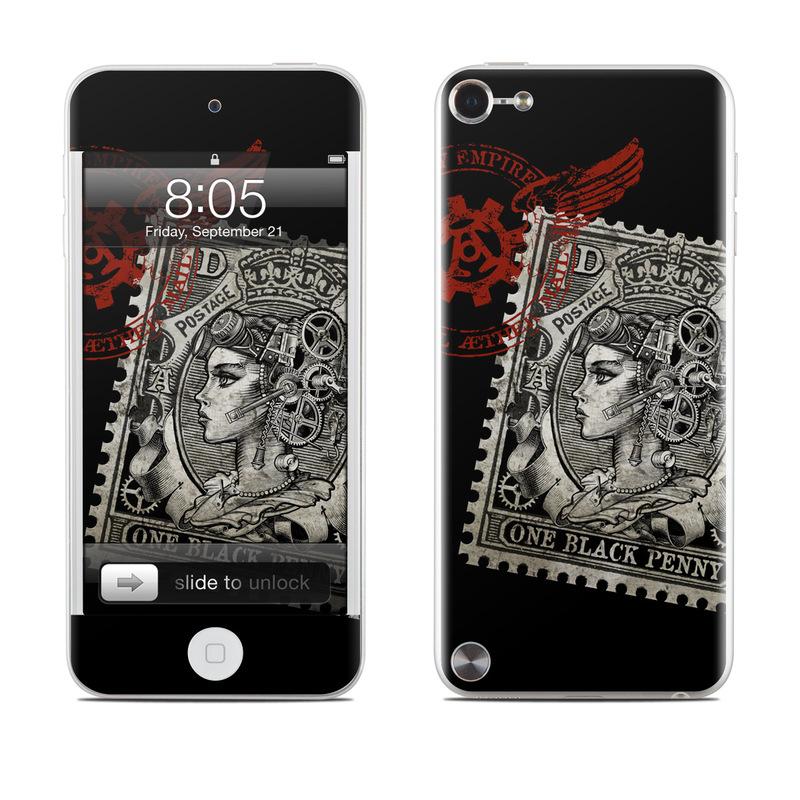 Black Penny iPod touch 5th Gen Skin