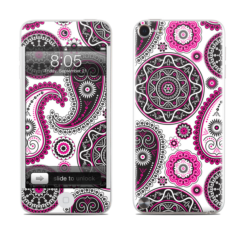 Boho Girl Paisley iPod touch 5th Gen Skin - Covers iPod ...