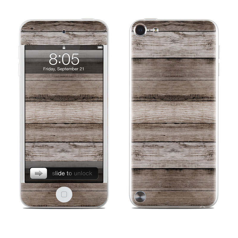 Barn Wood iPod touch 5th Gen Skin