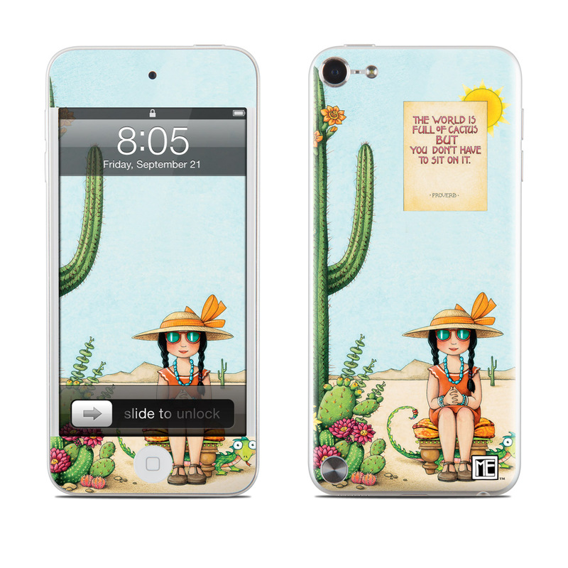Cactus iPod touch 5th Gen Skin