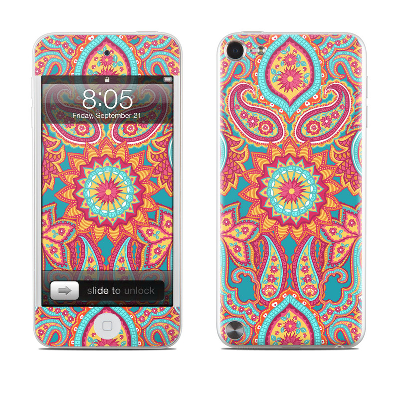 Carnival Paisley iPod touch 5th Gen Skin