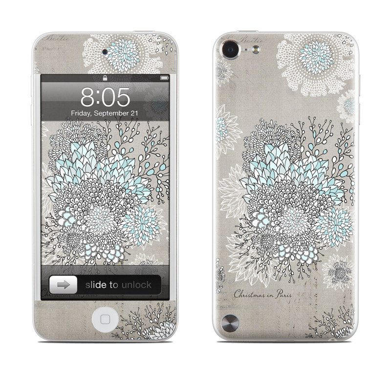 Christmas In Paris iPod touch 5th Gen Skin