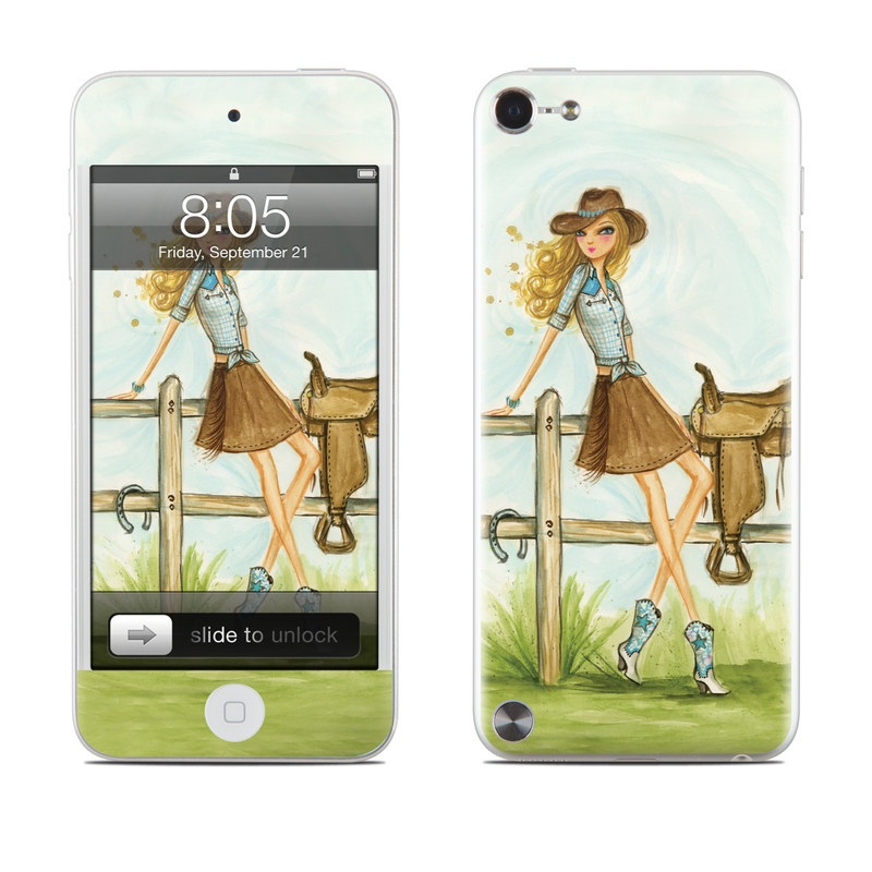 Cowgirl Glam iPod touch 5th Gen Skin