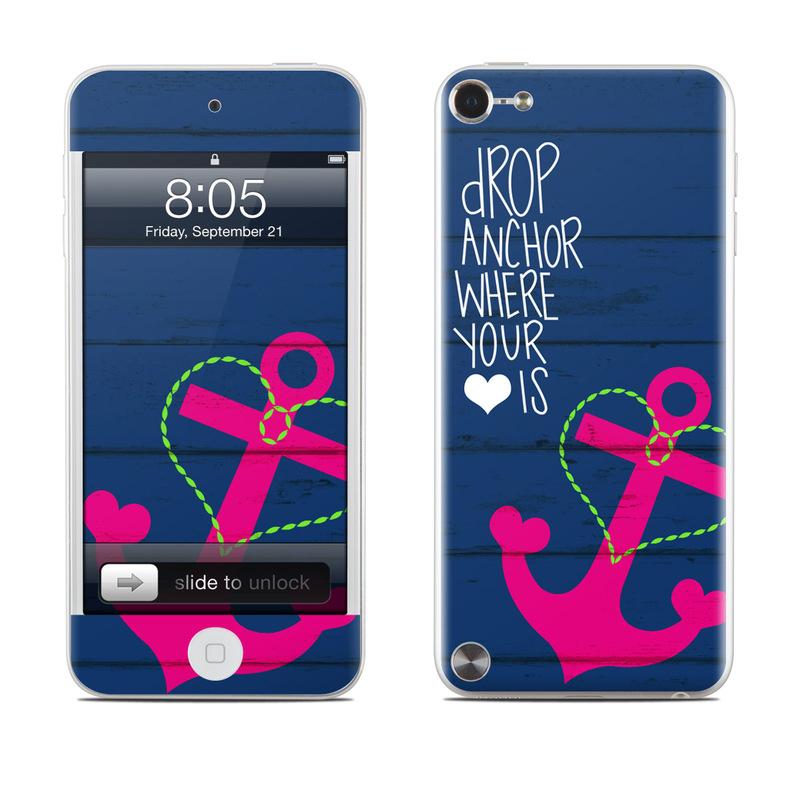 Drop Anchor iPod touch 5th Gen Skin
