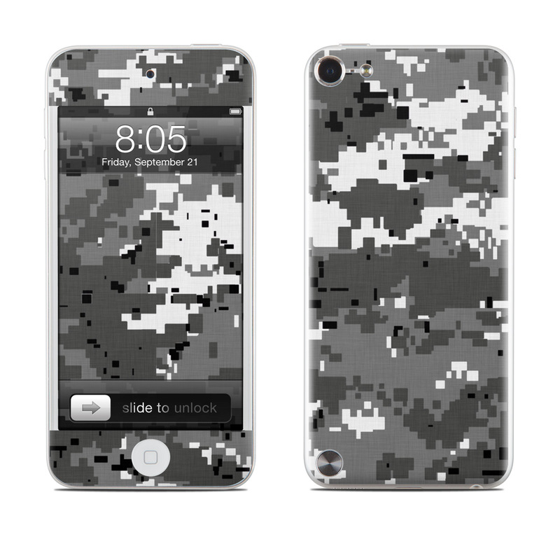 Digital Urban Camo iPod touch 5th Gen Skin