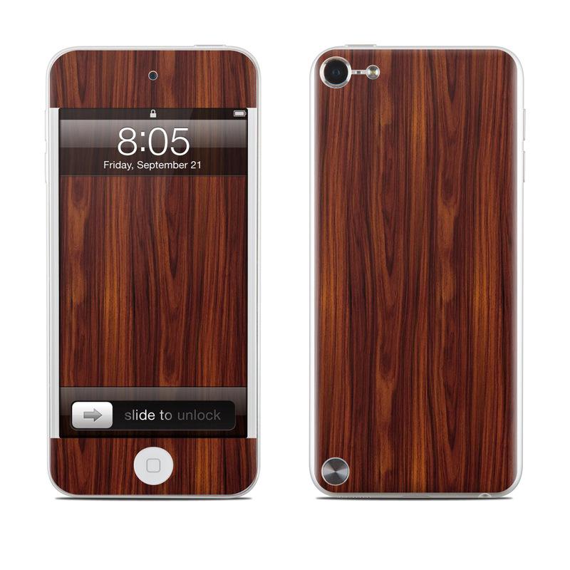 Dark Rosewood iPod touch 5th Gen Skin