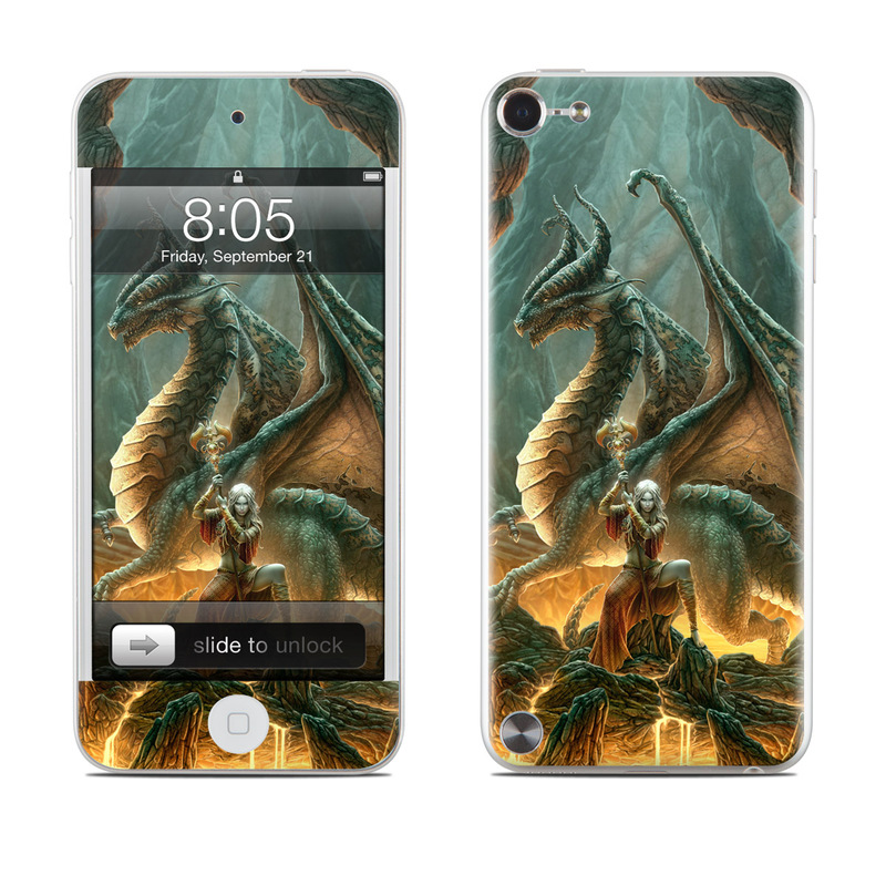 Dragon Mage iPod touch 5th Gen Skin