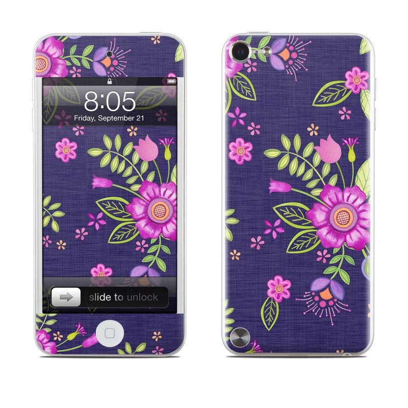Folk Floral iPod touch 5th Gen Skin