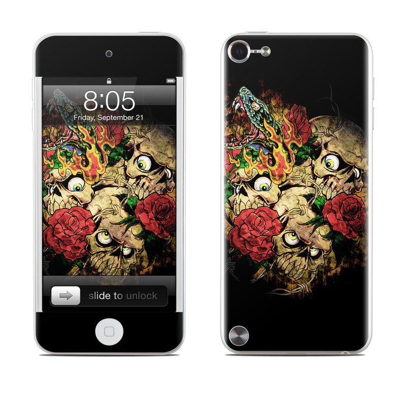 Gothic Tattoo iPod touch 5th Gen Skin