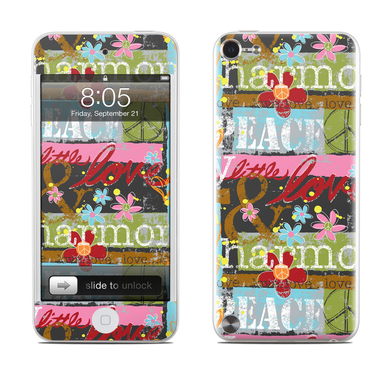 Harmony and Love iPod touch 5th Gen Skin