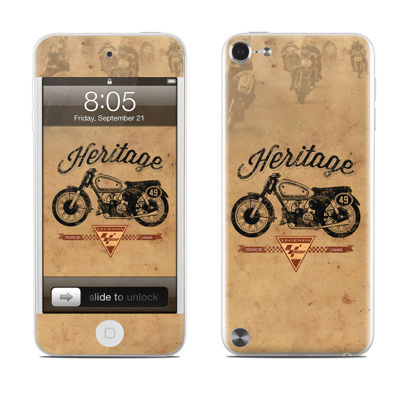 MotoGP Heritage iPod touch 5th Gen Skin