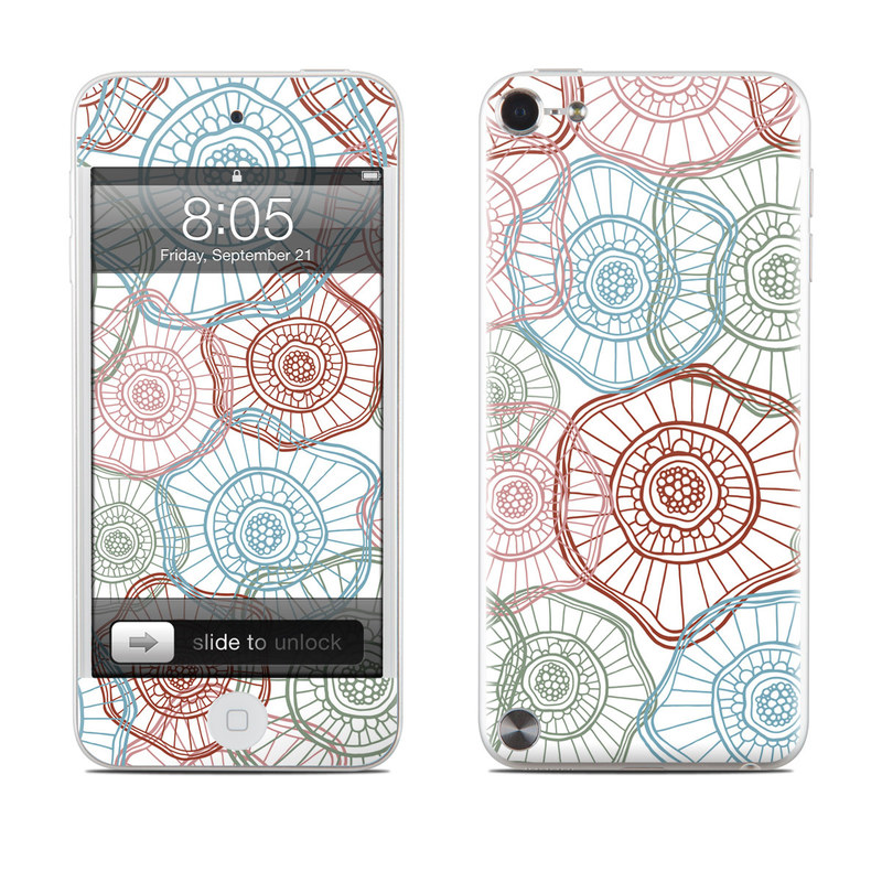 Micro Flowers iPod touch 5th Gen Skin
