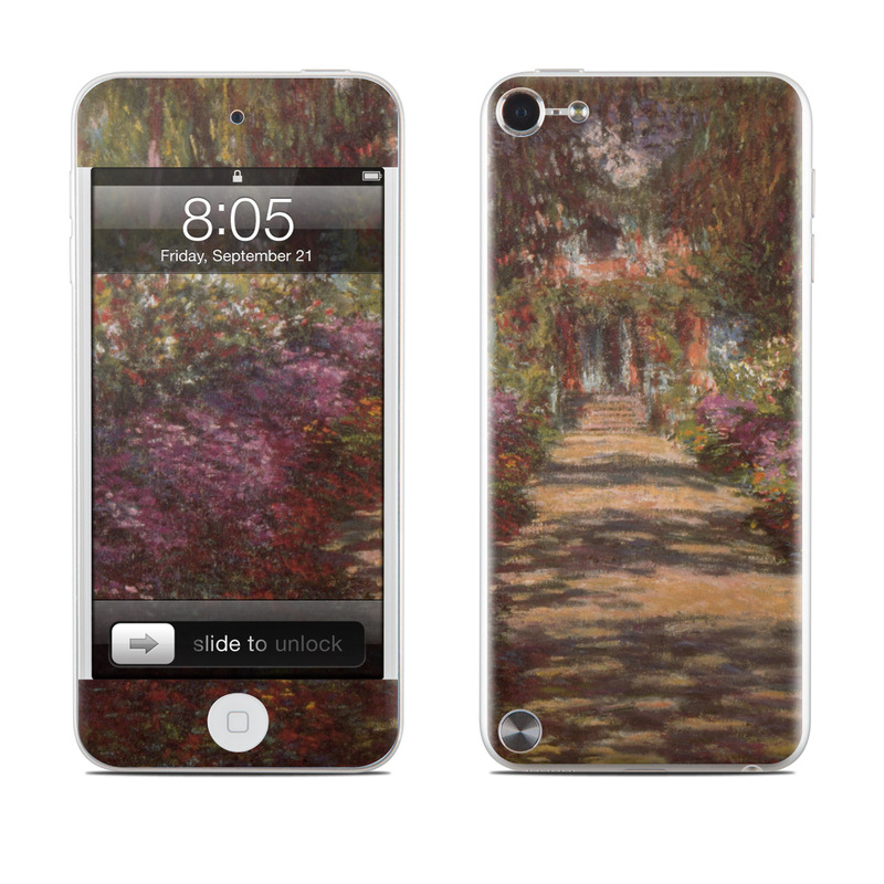 Garden at Giverny iPod touch 5th Gen Skin